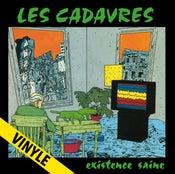 """Image of LES CADAVRES """"Existence Saine"""" LP (Réédition 2017)"""