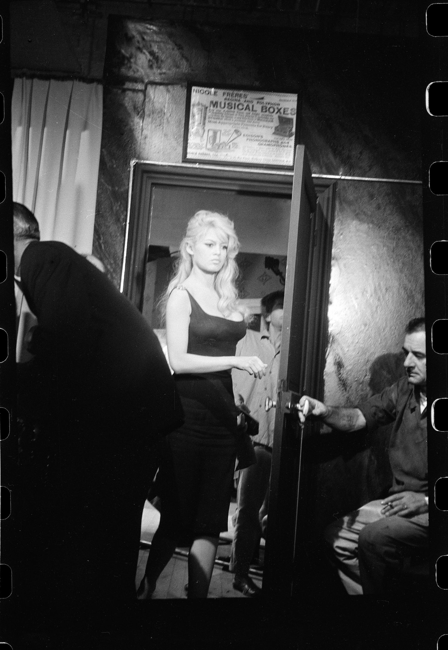 Image of Ms. Brigitte Bardot on set 1959
