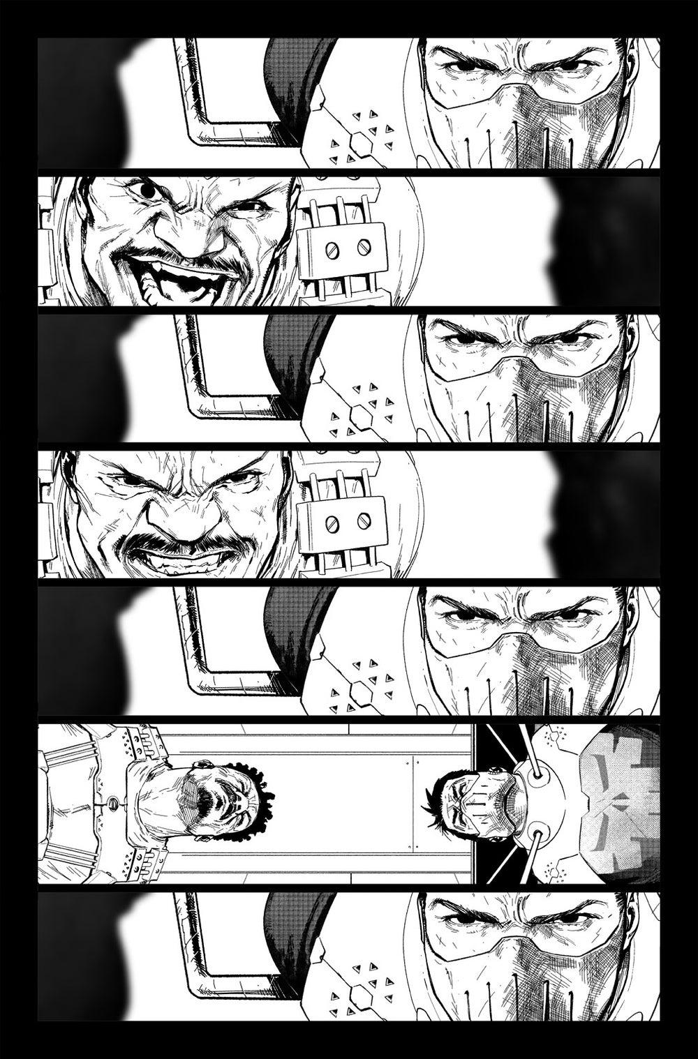 Image of DEFENDERS #5 p.05 Artist's Proof