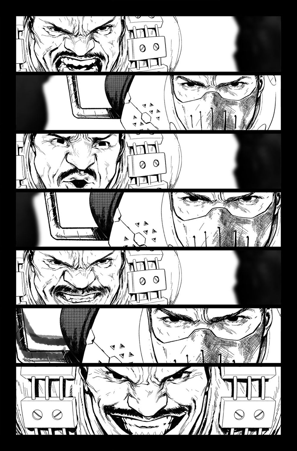 Image of DEFENDERS #5 p.07 ARTIST'S PROOF