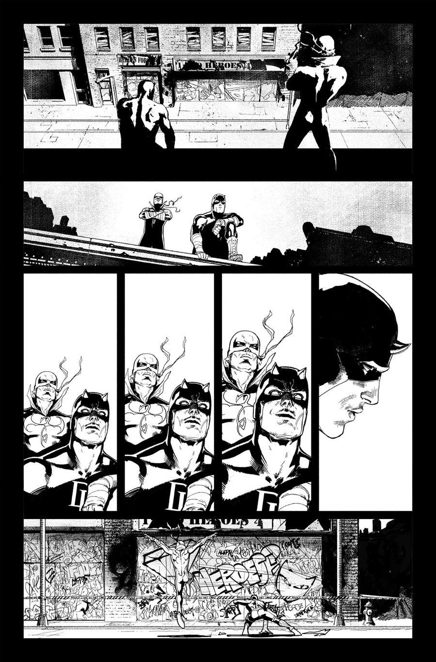 Image of DEFENDERS #5 p.15 ARTIST'S PROOF
