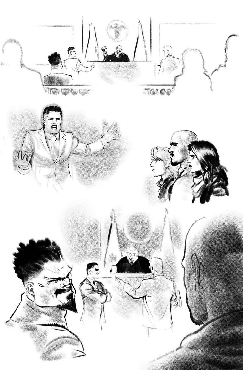 Image of DEFENDERS #6 p.16 ARTIST'S PROOF