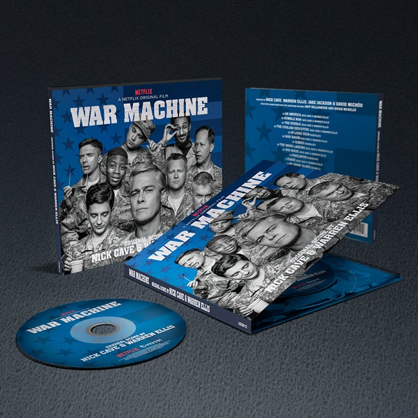 Image of War Machine (A Netflix Original Film) CD - Nick Cave & Warren Ellis