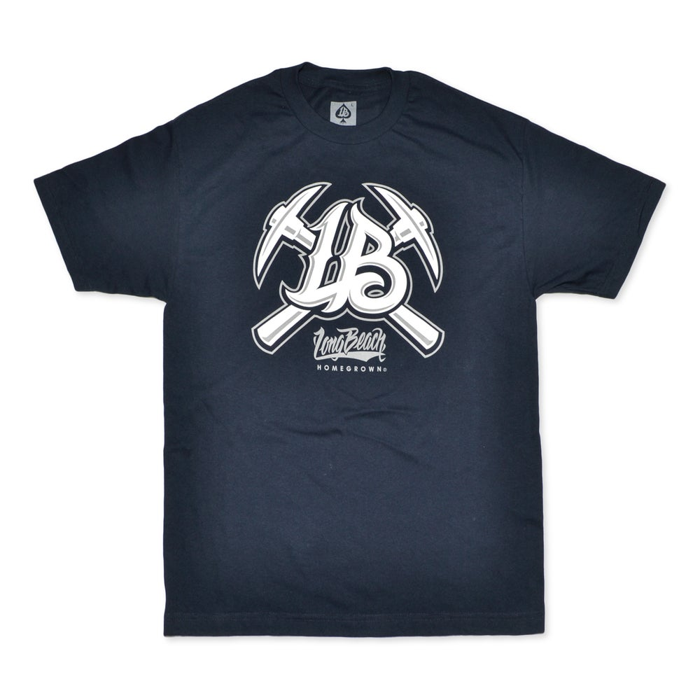 Image of LB PICKS NAVY MENS TEE