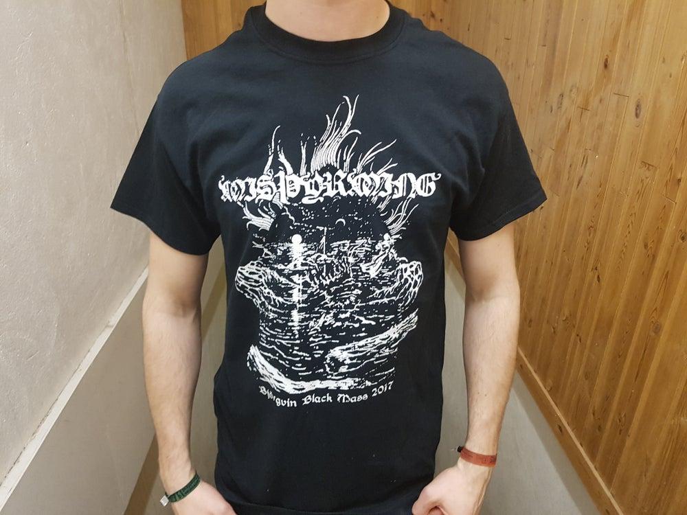 """Image of Misþyrming - """"Björgvin Black Mass"""" T-shirt"""