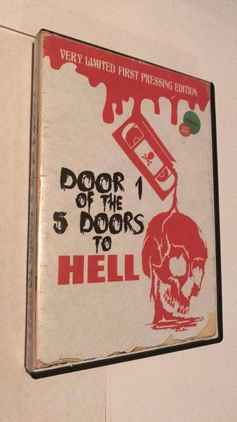 Image of Door 1 of the 5 Doors to Hell (Very Limited First Pressing Edition DVD)