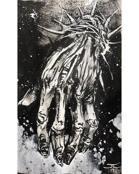 Image of Inktober Sketch #05 Long
