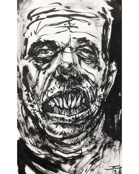 Image of Inktober Sketch #08 Crooked