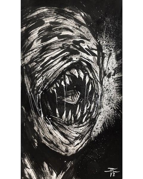 Image of Inktober Sketch #09 Screech