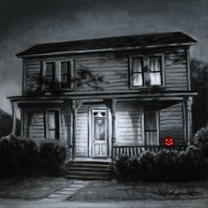 """Image of """"Myers House"""" - 5"""" x 5"""" giclee"""