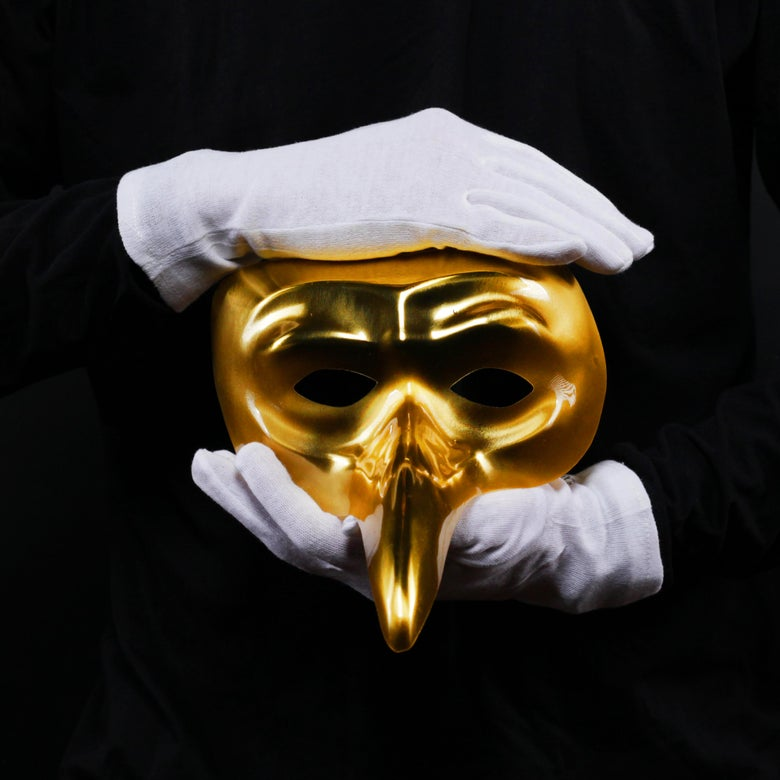 Image of Bundle: Claptone Mask + Gloves