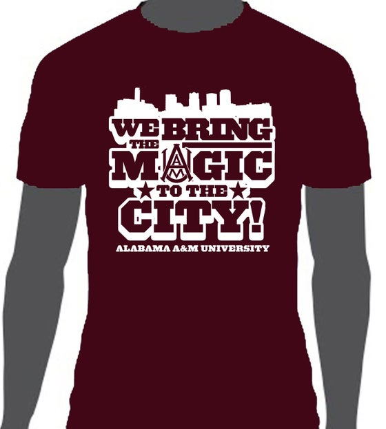 Image of We Bring The Magic - AAMU T-Shirt