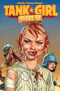 Image of Tank Girl Gold - Signed and Personalised Graphic Novel