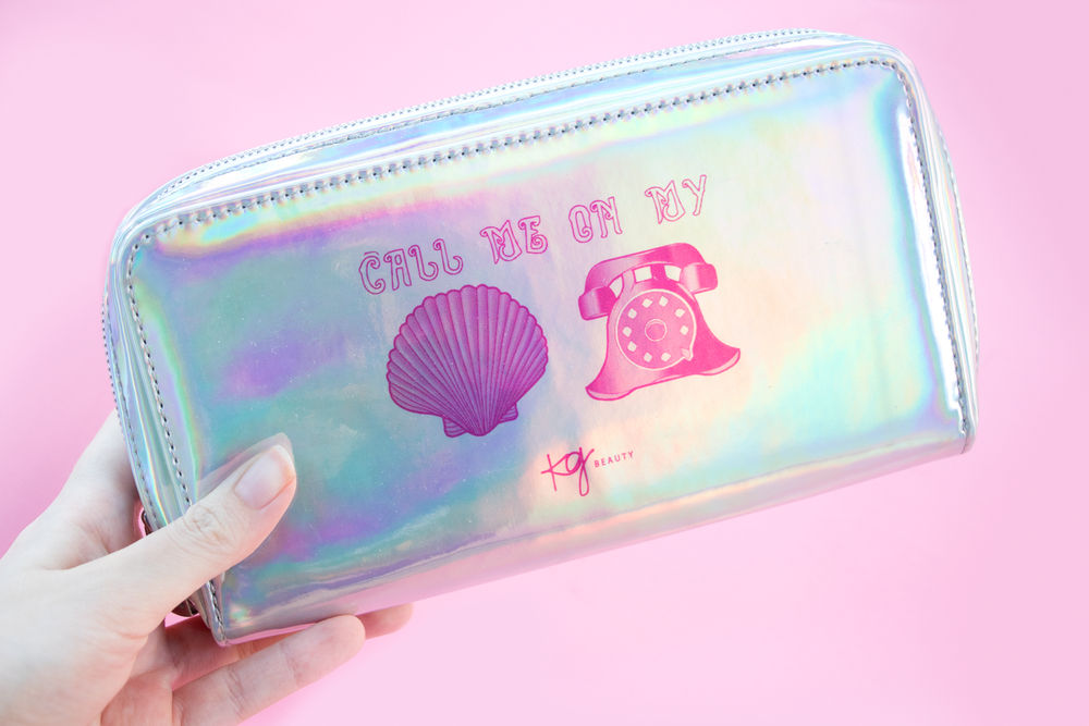 Image of LIMITED EDITION Holographic Makeup Bag