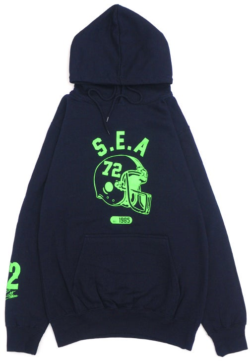 Image of S.E.A Hoodie navy