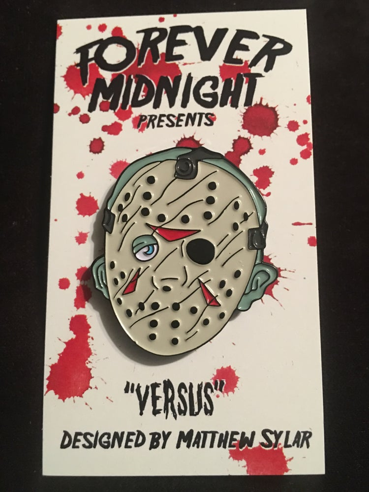"Image of ""Versus"" Enamel Pin"