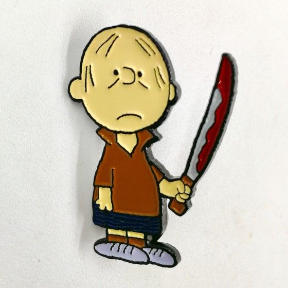 """Image of """"Charlie Jarvis"""" Enamel Pin"""