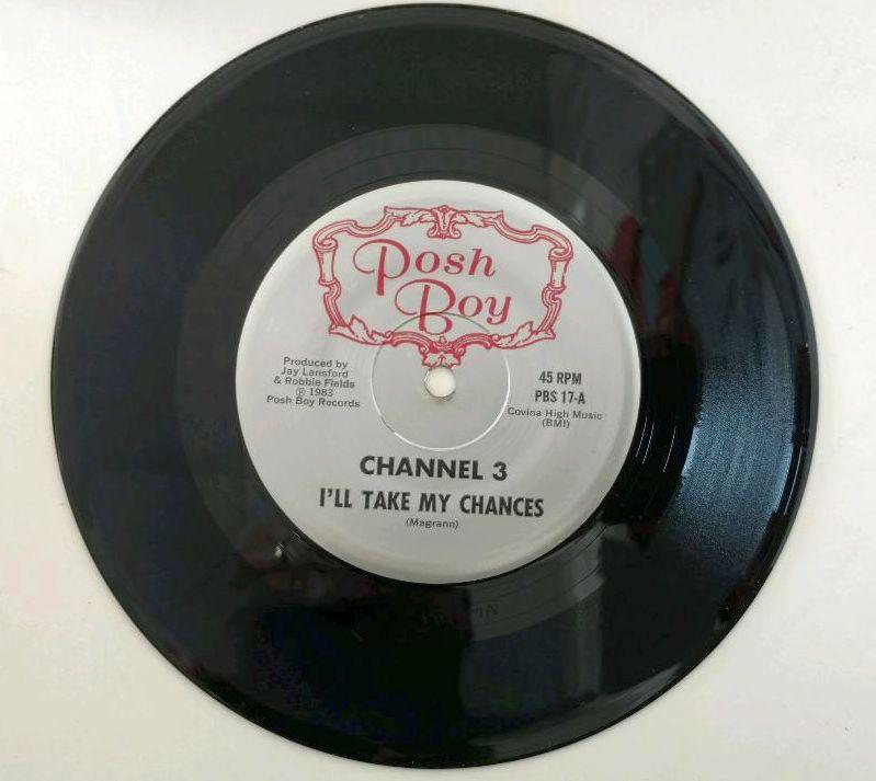 Image of Original 1983 Pressing I'll Take My Chances single