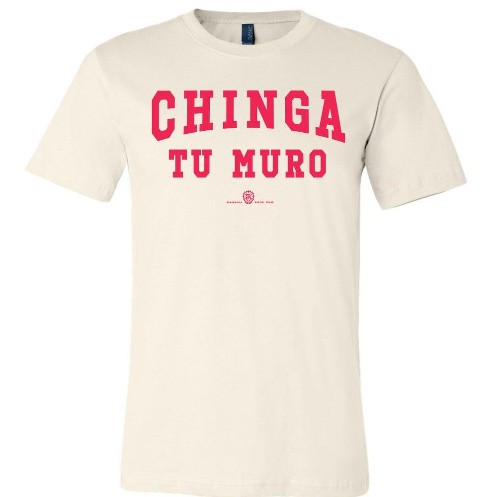 Image of CHINGA TU MURO - 2 (off-white)