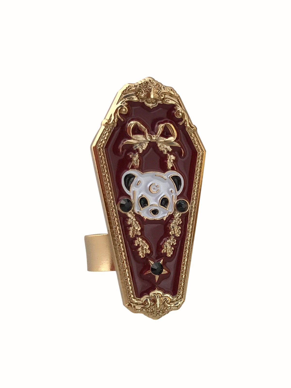 Image of Dearly Departed • Burgundy Ring