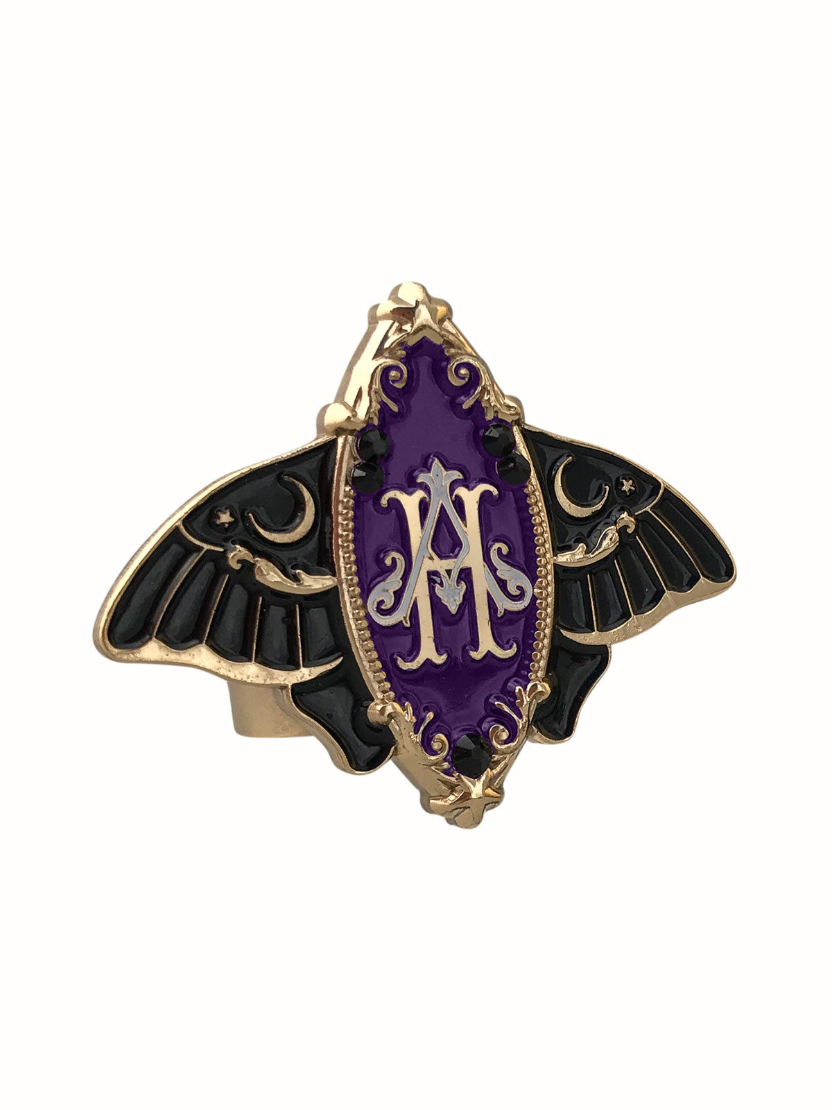 Image of Moonlight Moth • Purple Ring