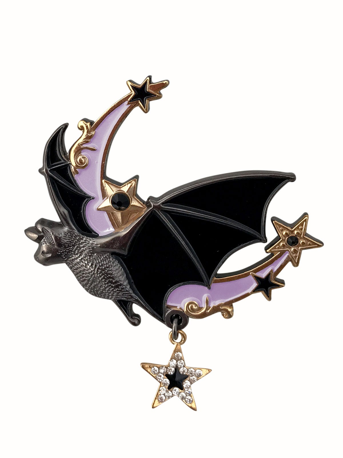 Image of Night Flight Brooch • Lavender