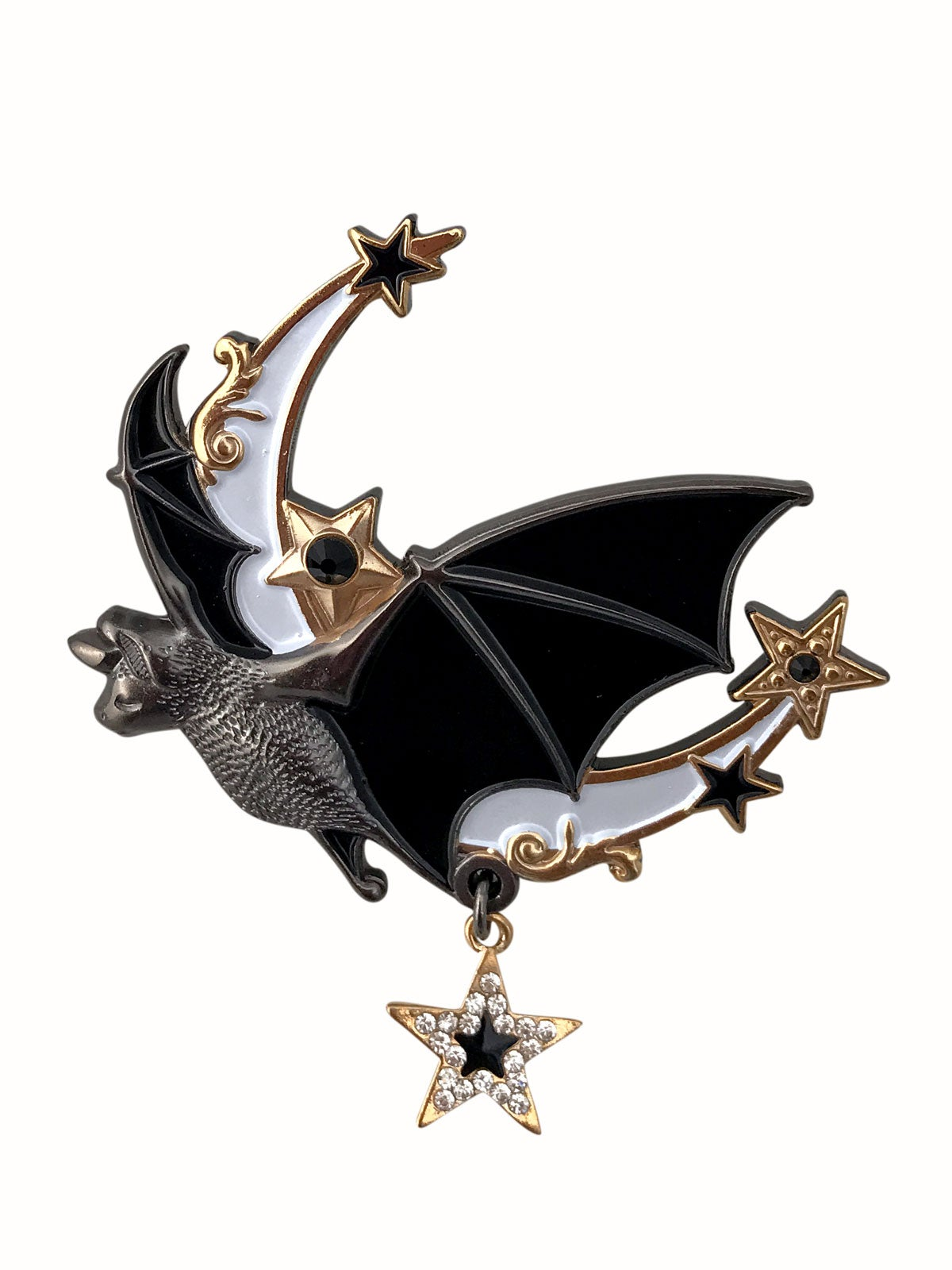 Image of Night Flight Brooch • White Pearl