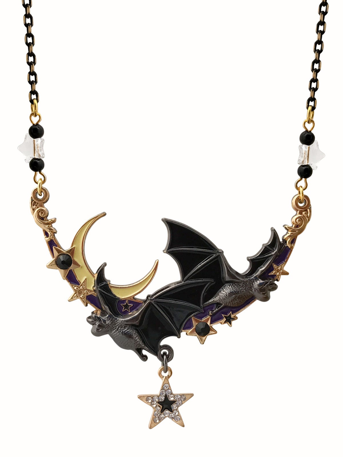 Image of Night Flight Necklace • Purple