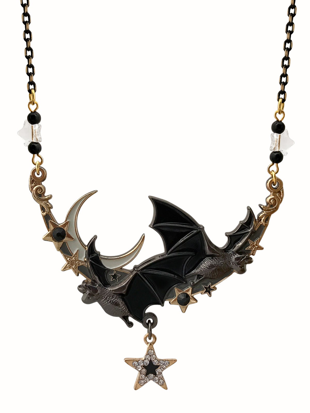 Image of Night Flight Necklace • Black