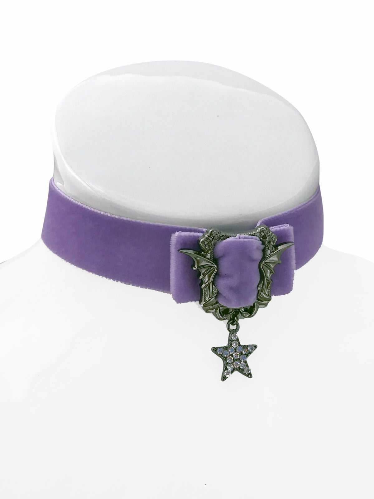 Image of Sweet Nightmares Choker • Lavender