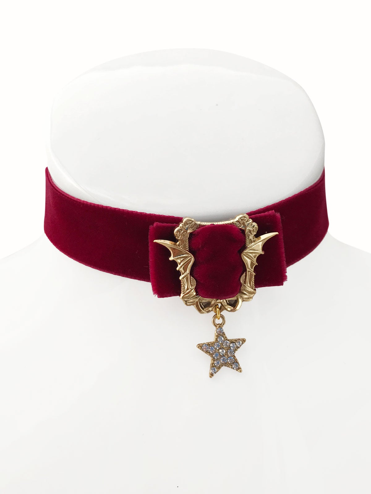 Image of Sweet Nightmares Choker • Burgundy