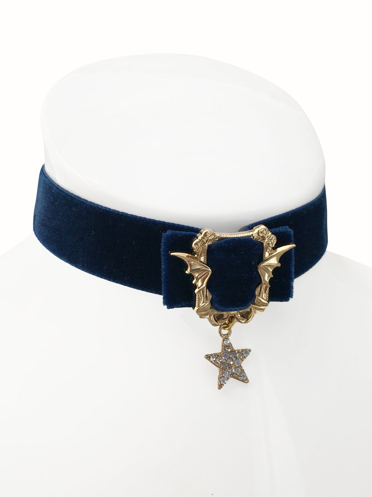 Image of Sweet Nightmares Choker • Navy