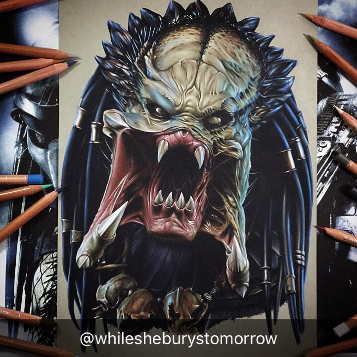 Image of Limited Edition Predator prints Large