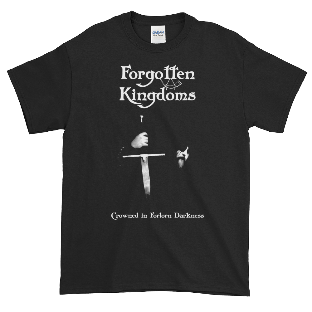"""Image of Forgotten Kingdoms - """"Crowned in Forlorn Darkness"""" shirt"""