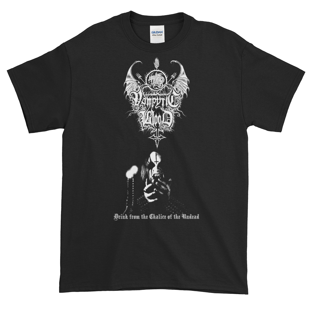 "Image of Vampyric Blood - ""Chalice of the Undead"" shirt"