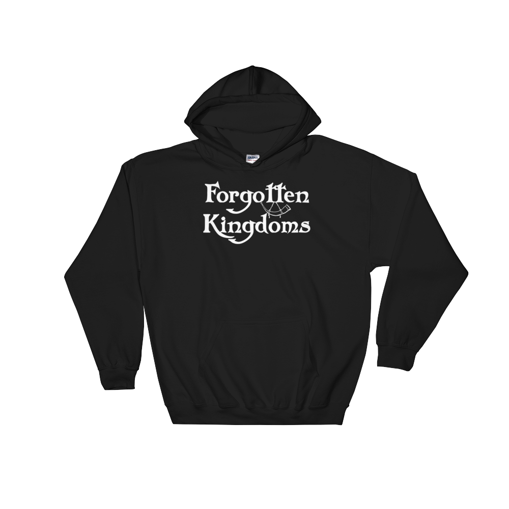 Image of Forgotten Kingdoms logo hoodie