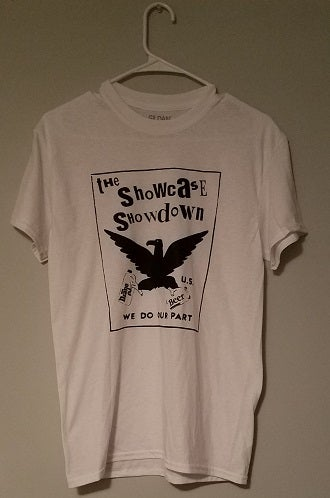 Image of Showcase Showdown - classic logo (white shirt)