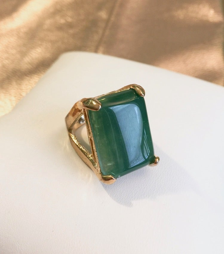 Image of Statement Stone Ring (More Colors)
