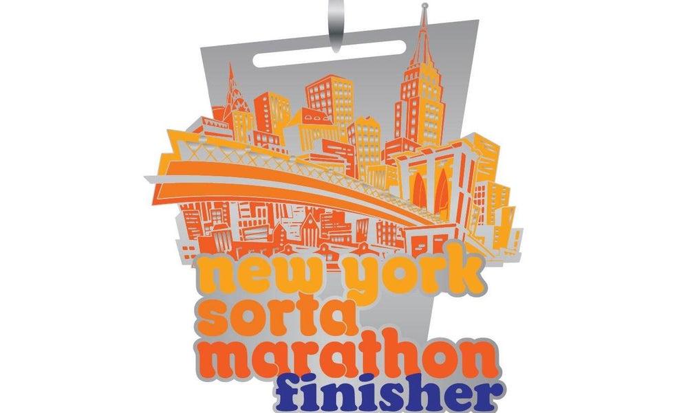 Image of New York Sorta Marathon Finisher Medal