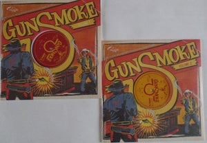 "Image of 10"" LP V.A.  : Gunsmoke Vol 1 & Vol 2."