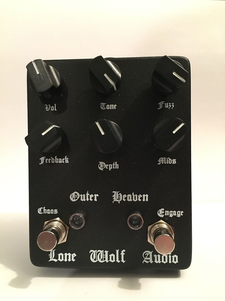 Image of Outer Heaven fuzz pre order