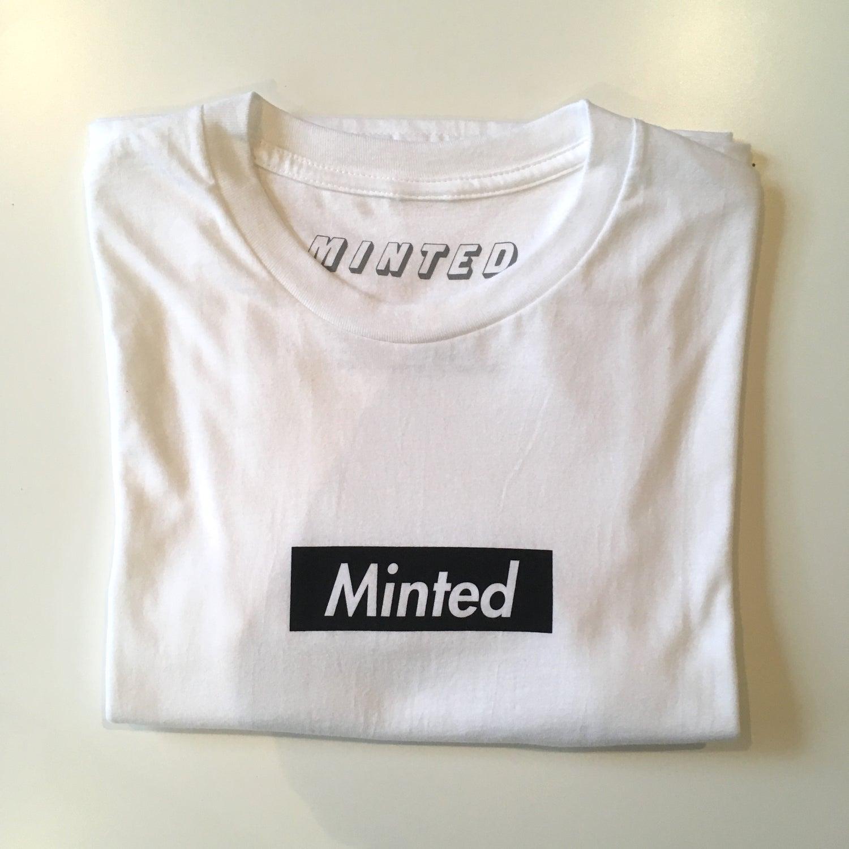 Image of Minted Box Logo (Black)