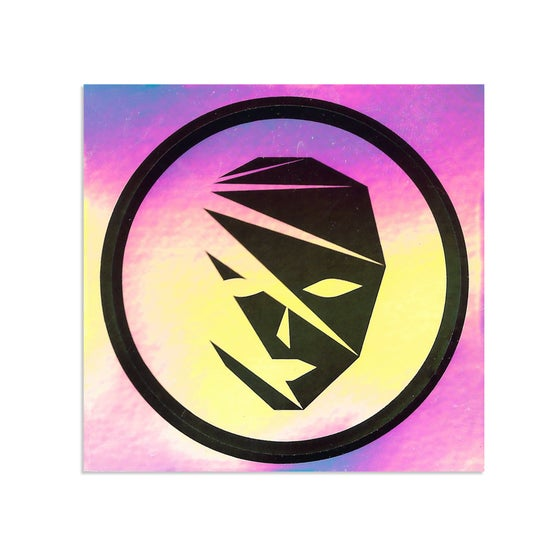 Image of Holographic Blank Banshee Logo Sticker