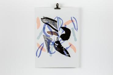 Image of 'Vine' Riso Print