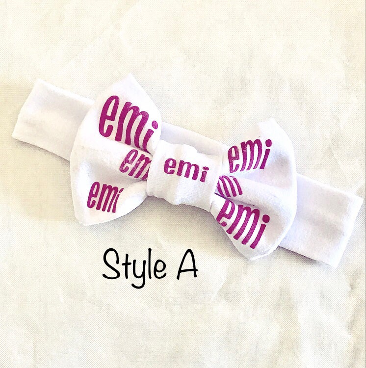 Image of Personalized Bows