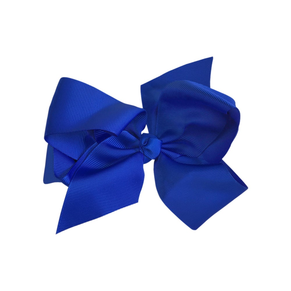 Image of Electric Blue Bow Large