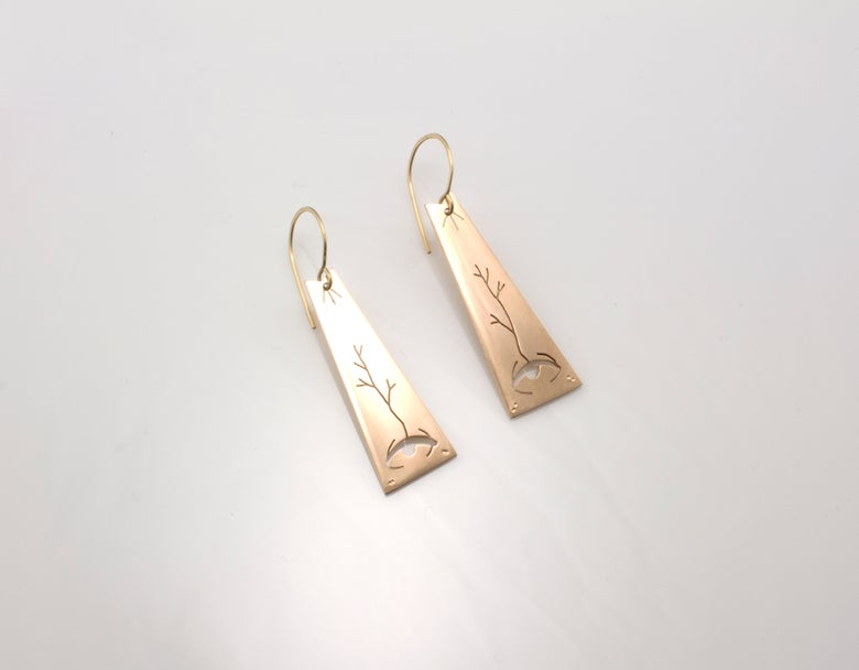 Image of Ocular Obelisk Earrings