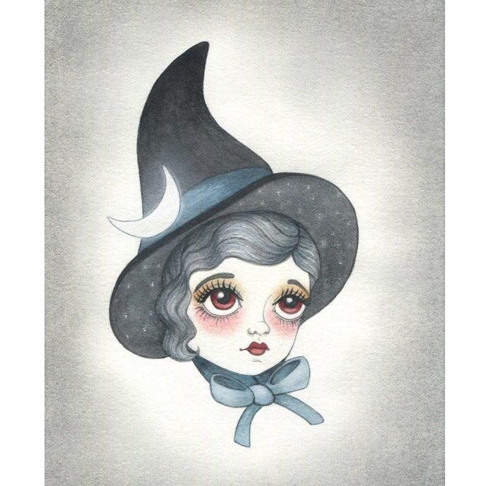 Image of Night Sky Witch 5x7 print
