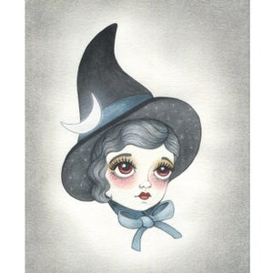 Image of Night Sky Witch 5x7 print