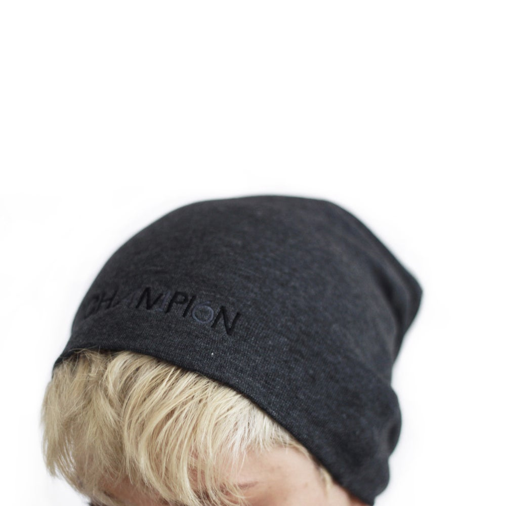 Image of unisex simplicity slouchy beanie